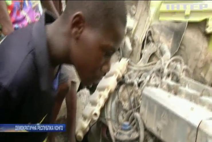 Аварія у Конго: масово загинули люди