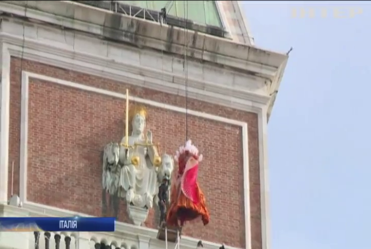 У Венеції на площі Сан-Марко відбувся політ янгола