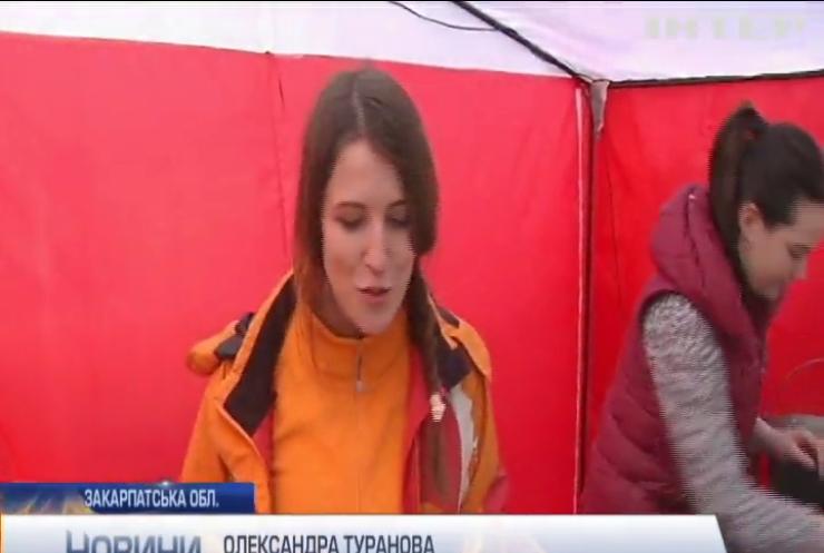В Ужгороді відбувся фестиваль млинців