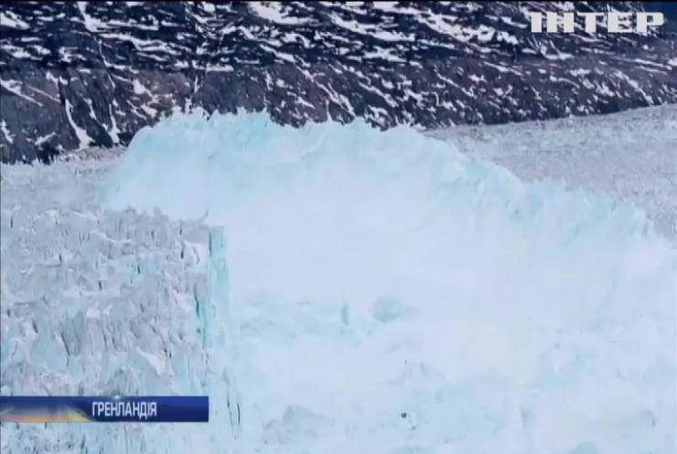 Гренландія експортуватиме воду з льодовиків