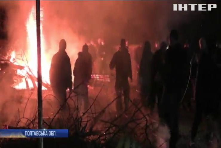 Поліція розслідує масові заворушення у Нових Санжарах