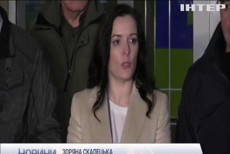 Зоряна Скалецька добровільно залишилася в ізоляції разом з евакуйованими українцями