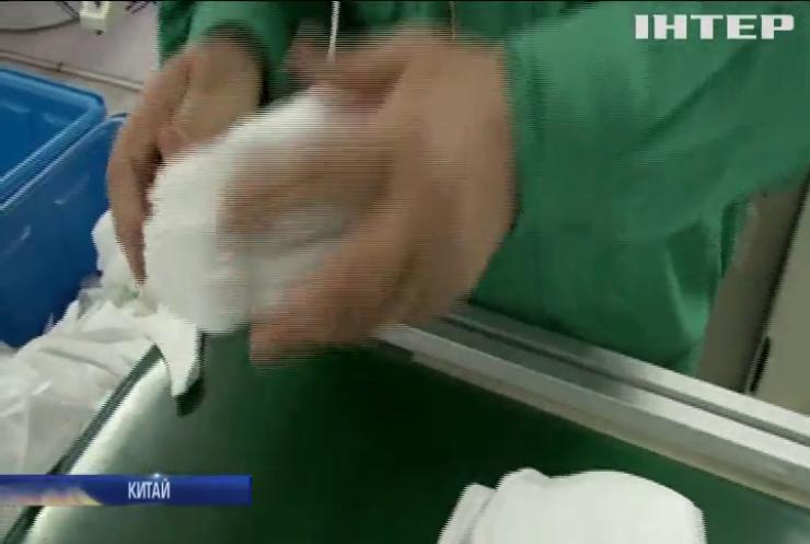 Китайська поліція затримала підробників масок