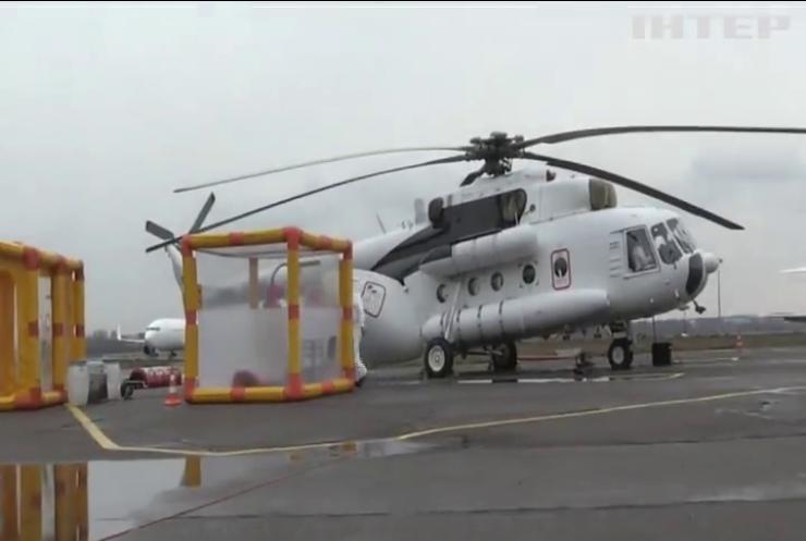 МНС України презентувало COVID-вертоліт