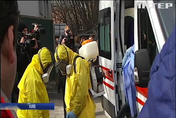 У Києві госпіталізували українку, що прилетіла з Італії