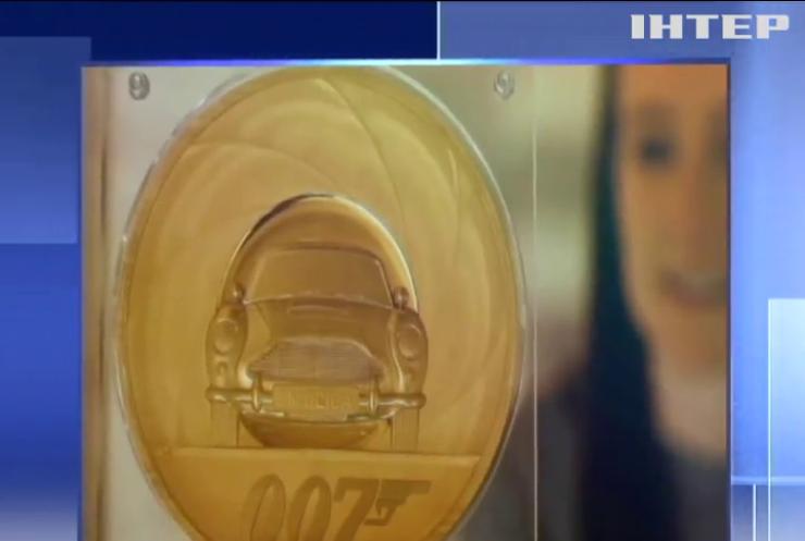 Новому фільму про Джеймса Бонда присвятили монету