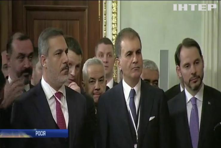 Президенти Туреччини та Росії домовились про перемир'я у сирійському Ідлібі