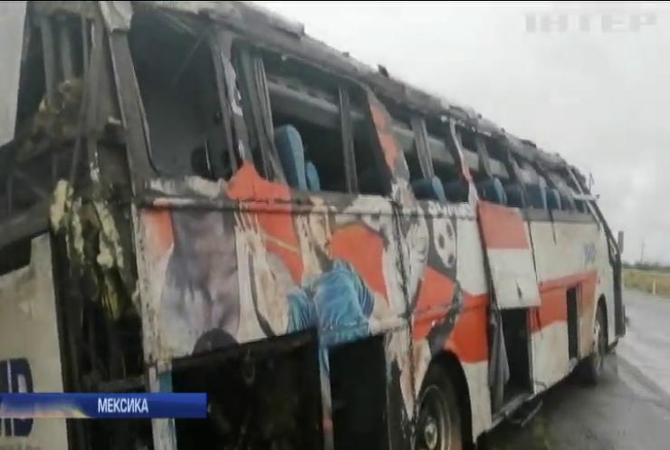 У Мексиці розбився автобус з боксерами