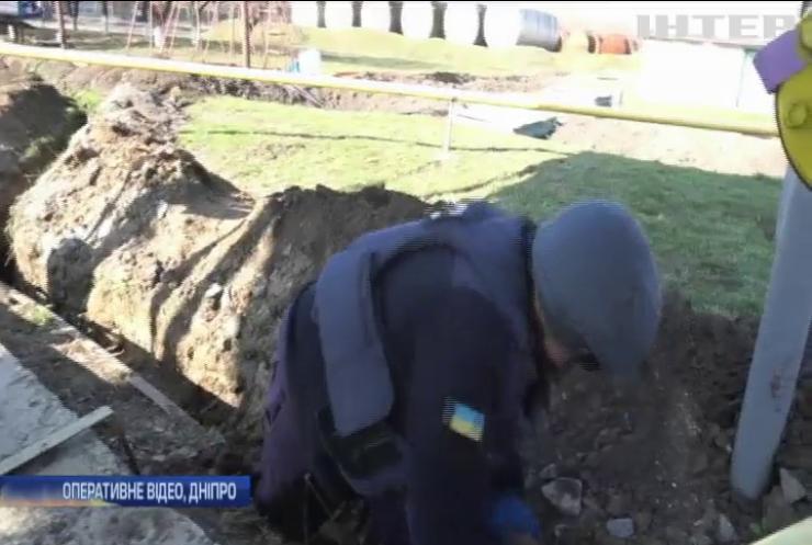 На території Дніпропетровського аеропорту знайшли арсенал боєприпасів
