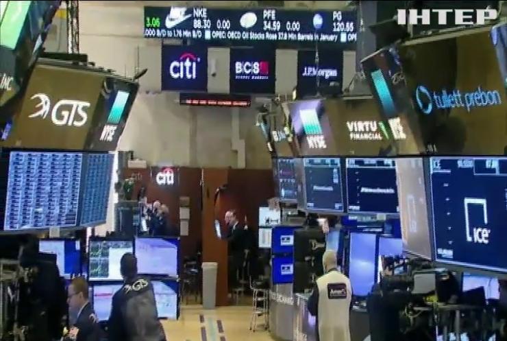 Дешева нафта обвалила світові фондові ринки
