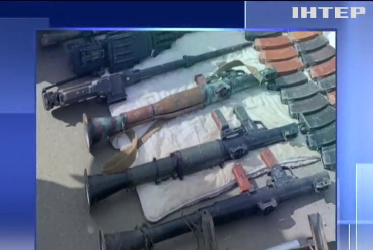 За району ООС намагалися вивезти кулемети та гранатомети