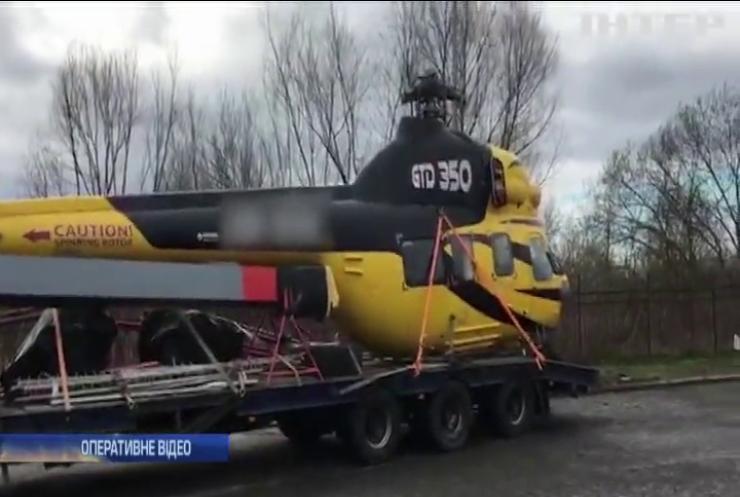 В Україну намагалися нелегально провезти вертоліт