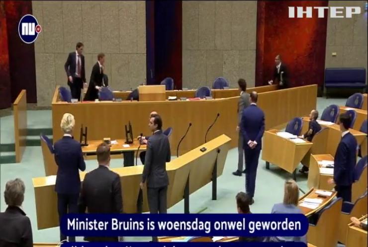 Головний дипломат Нідерландів налякав колег втратою свідомості