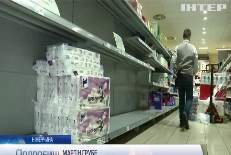 Німці масово скуповують продукти