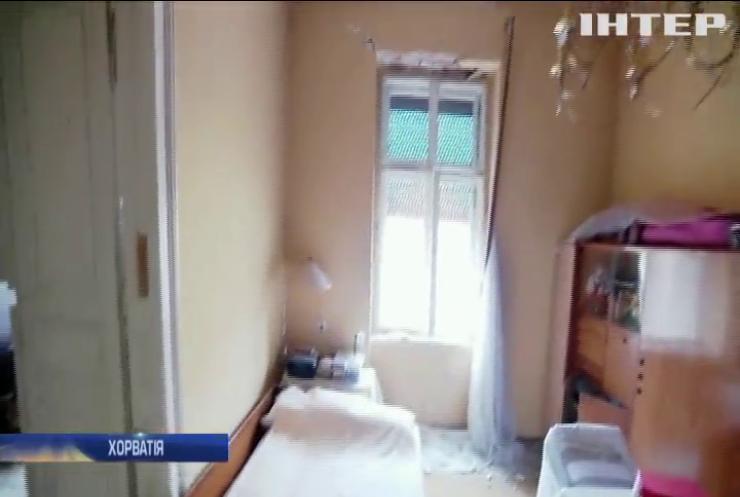 Землетрус у Хорватії зруйнував десятки будинків