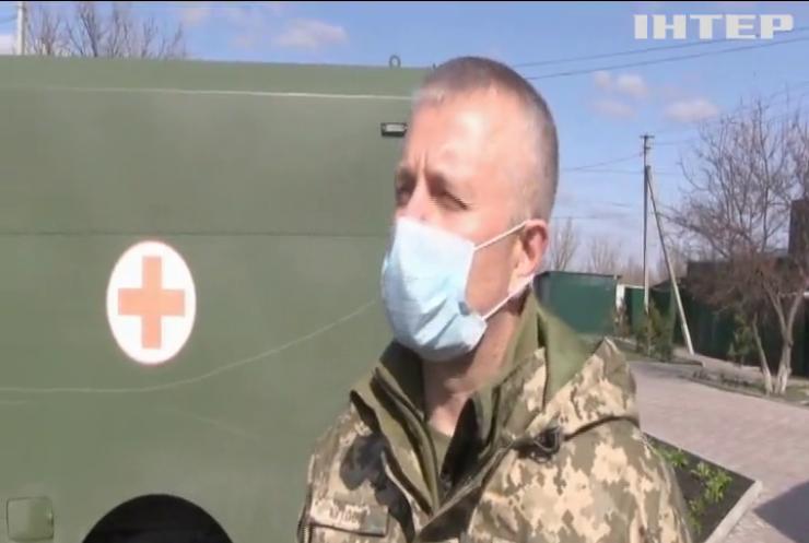 Українські військові передали гуманітарну допомогу у Нижнянський психоневрологічний диспансер