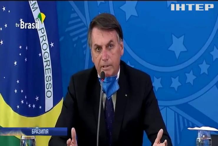 Невеличкий грип: президент Бразилії хоче скасувати коронавірусний карантин