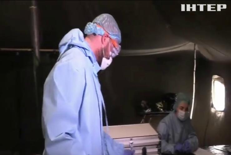 Бійцям ООС передали медичні маски, засоби дезінфекції та тести на коронавірус