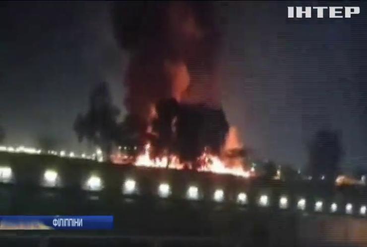 На Філіппінах вибухнув літак із медиками та пацієнтом