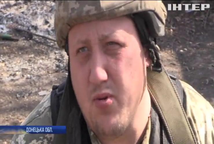 На Донбасі бойовики застосовують заборонені калібри та гранатомети
