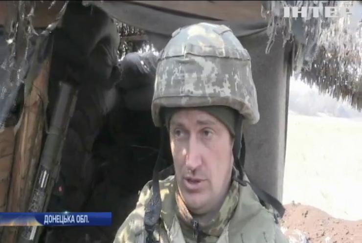 На Луганщині на протипіхотній міні підірвався український армієць