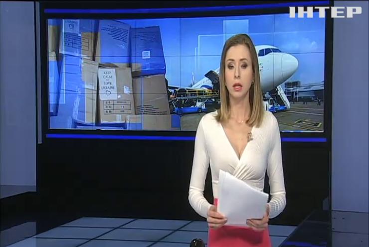 В Україну доставили тести, маски та апарати ШВЛ з Китаю