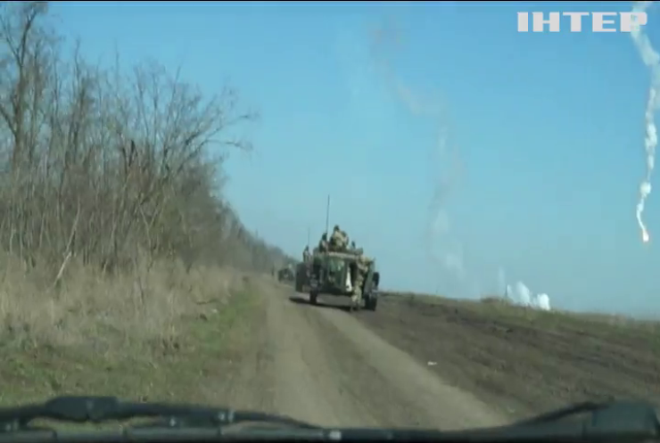 Біля Новотошківського бойовики вели масовані обстріли