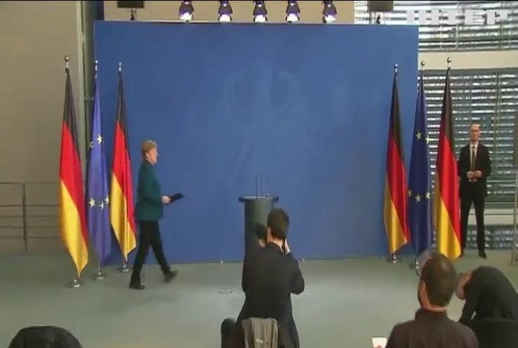 Ангела Меркель вийшла з самоізоляції