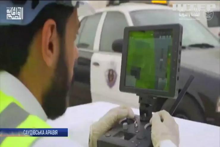 У Саудівській Аравії дрони шукають хворих на коронавірус