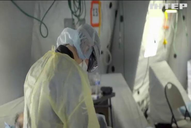 Кількість хворих на коронавірус невпинно зростає