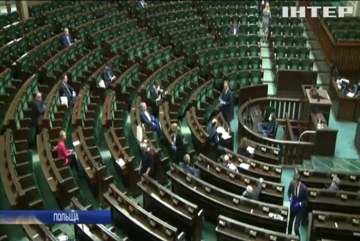 Сейм Польщі ухвалив законопроект про заочне голосування на президентських виборах
