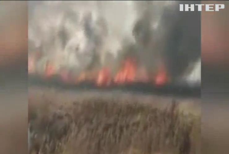 В Україні зафіксували понад 500 пожеж за добу