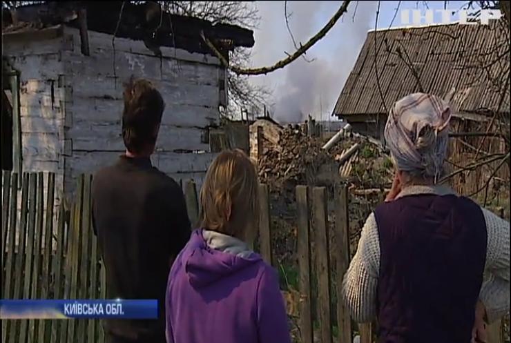 Пожежа у Чорнобильській зоні впритул наблизилася до житлових будинків