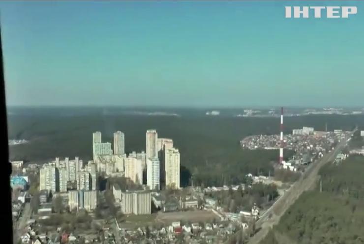 Погода прийшла на допомогу рятувальникам у Чорнобильській зоні