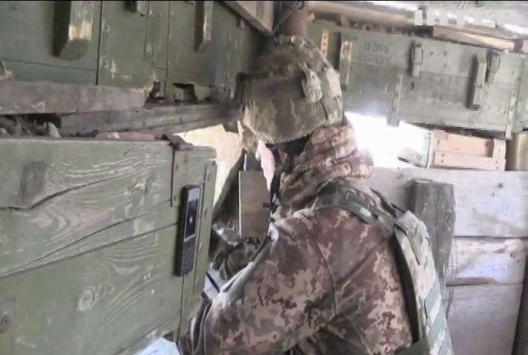 У зоні ООС поранено українських бійців