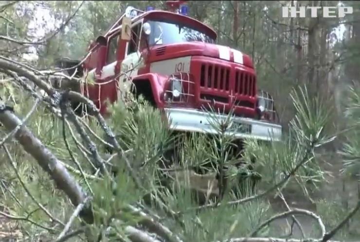 Збитки від пожеж у Чорнобильській зоні оцінюють у 145 мільйонів гривень