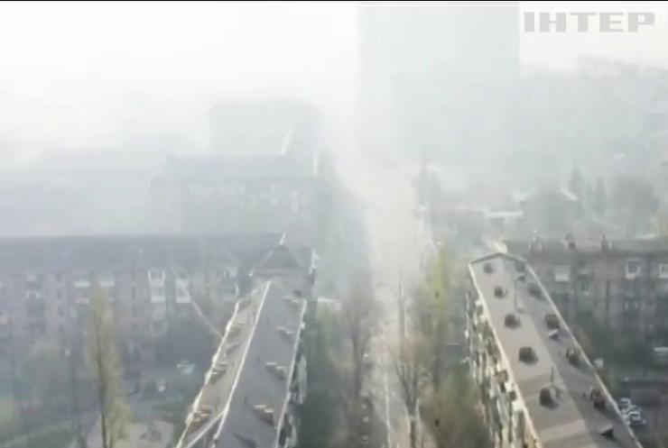 Дим від масштабних пожеж: яка ситуація із рівнем шкідливих речовин у повітрі