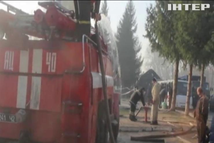На Житомирщині загасили масштабні пожежі