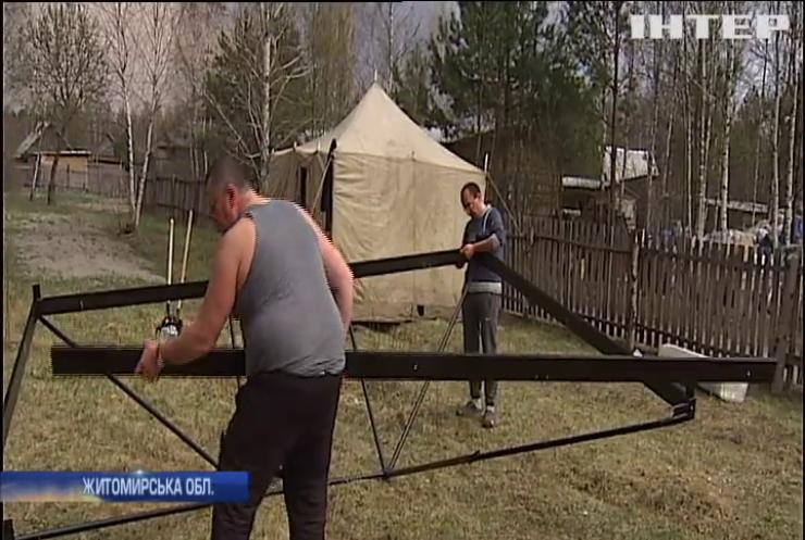 Сотні українців втратили домівки у пожежах на Житомирщині