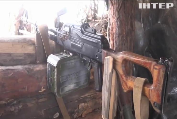 Бойовики застосували на Донбасі великокаліберні міномети