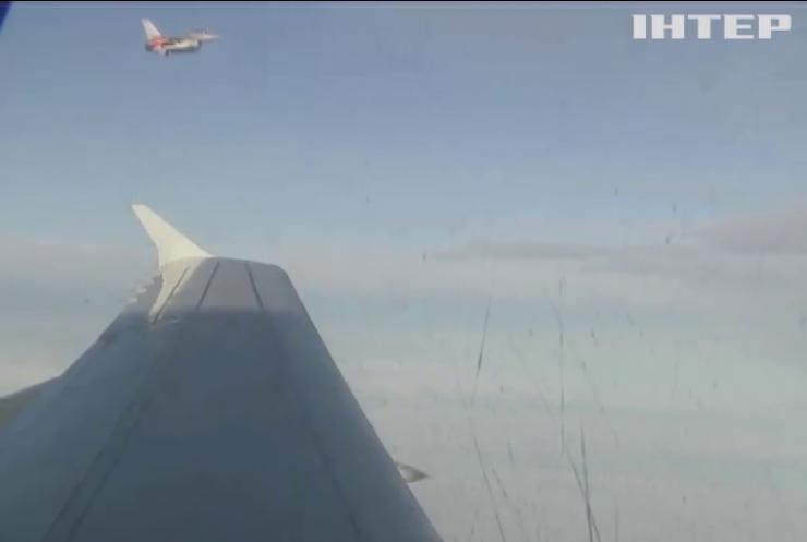 Авіація НАТО тричі перехопила російські літаки над Балтійським морем
