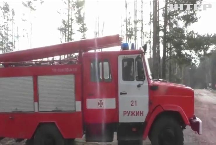 На Житомирщині та в Чорнобильській зоні загасили всі пожежі - ДСНС