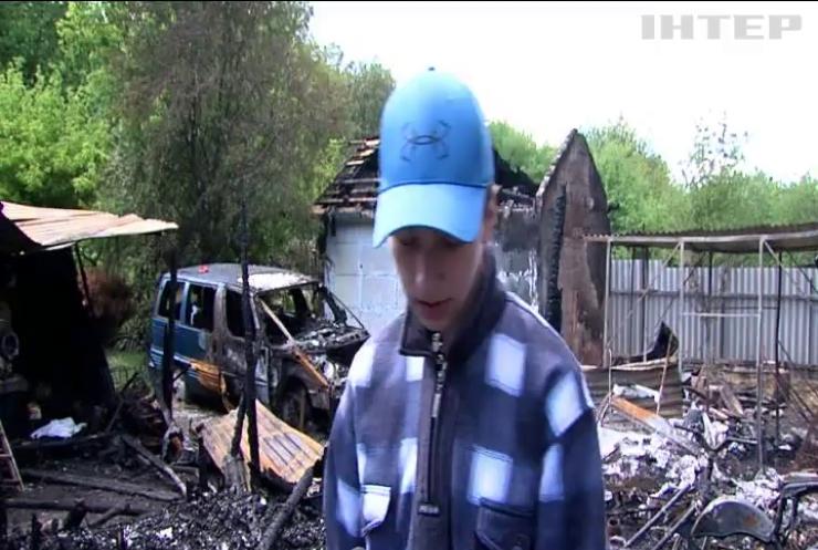 У Чернівцях підліток врятував молодшого брата з палаючого будинку
