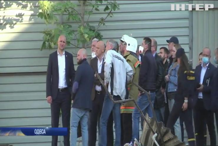 В Одесі розслідують обвал житлового будинку
