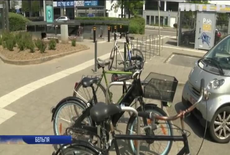 У Брюсселі велотранспорт витісняє автомобілістів