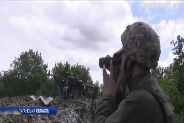 Загострення на передовій: бойовики застосували на Луганщині важку артилерію