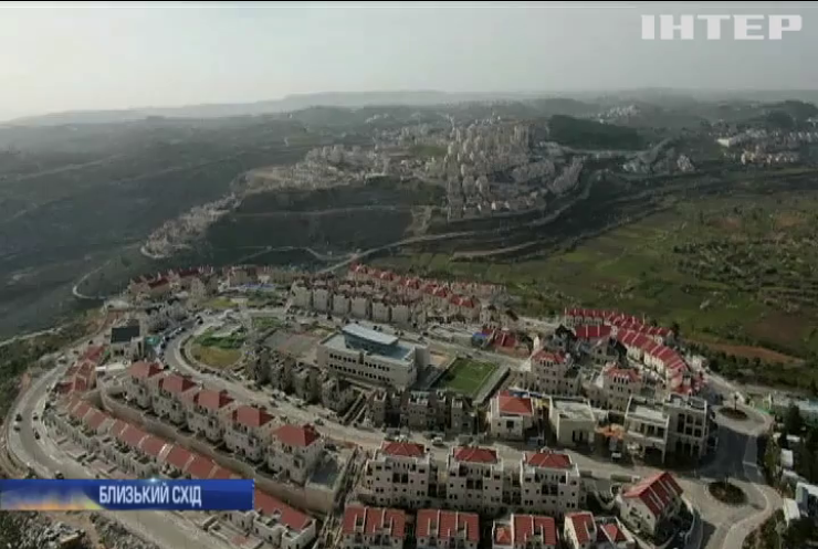 Ізраїль плануватиме анексію Західного берега річки Йордан