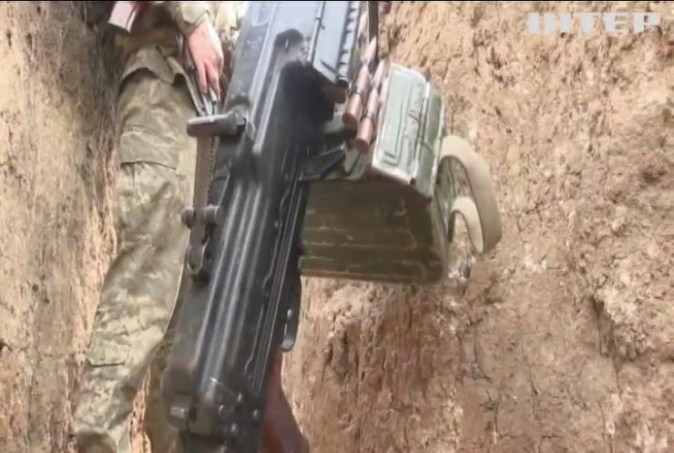 Біля Водяного бойовики вели вогонь із кулеметів