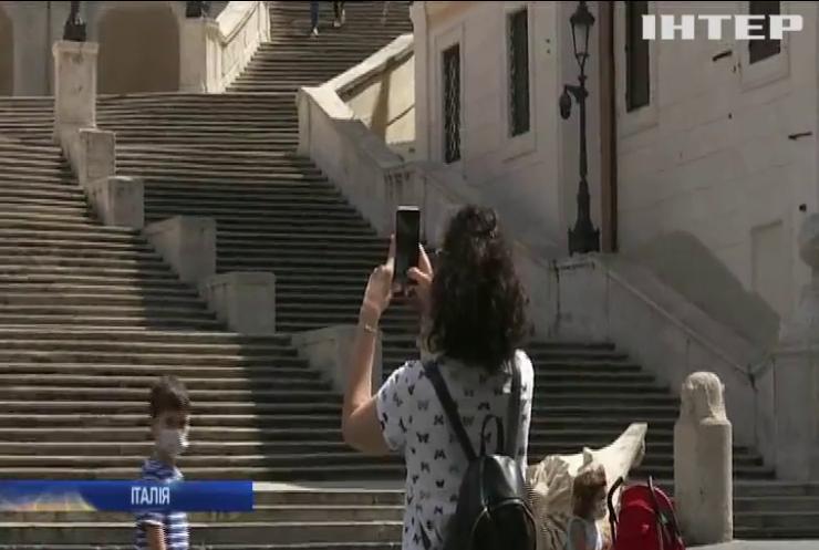 У Римі ввели штрафи за неправильну утилізацію масок