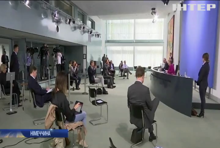 Ангела Меркель підтримала збереження санкцій проти Росії
